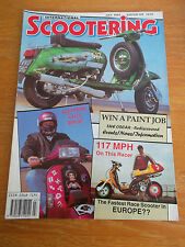 SCOOTERING MAG 106 JULY 1994 117mph RACE SCOOTER SOUTHPORT RALLY REPORT