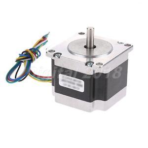 1.8deg 2.8A 41mm 2 Phase Nema 23 Stepper Motor For Engraving Printer Machines