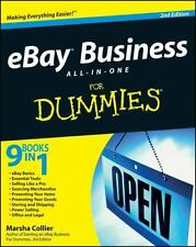 *New*  eBay Business All-in-One For Dummies 2nd Edition by Marsha Collier