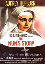 The Nun's Story (1959) - Audrey Hepburn, Peter Finch - DVD NEW