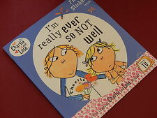 CHARLIE AND LOLA - I'M REALLY EVER SO NOT WELL  - Created by Lauren Child