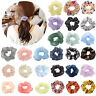 Vintage Hair Scrunchies Women Elastic Ponytail Holder Hair Ties Rope Band LOT