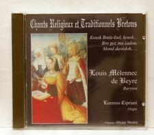 DE BEYRE, CIPRIANI Chants Religieux & Traditionnels Bretons DIVINA MUSICA CD NM