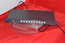 Kramer 10 X 1 vertical interval switcher VS-1011 rack mountable switch video