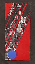 1970-71 Utah Stars Season Ticket Brochure ABA Basketball Champions NM/MT