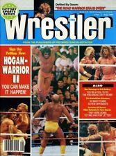 HULK HOGAN/ULTIMATE WARRIOR The Wrestler Wrestling Magazine August 1990
