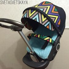 Stokke Xplory Stroller  missoni fabric kit  for stokke xplory, crusi, trailZ.