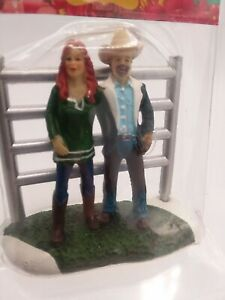 Pioneer Woman Holiday Edition Ropin Ree Ladd Christmas Village Drummond Figurine
