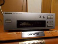 ONKYO EQ-205 Stereo Graphic Equalizer EQ Audio Deck JP Works Good DHL