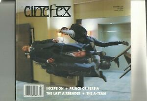 CINEFEX * ISSUE 123 * OCTOBER 2010 inception prince of persia last airbender
