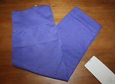 NWT Lululemon Seamlessly street crop capri Heathered Iris purple Size 10 large