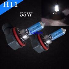 H11 Bright White 5000K 55w Xenon Halogen Headlight 12v Light Bulb Low Beam