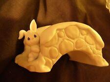 Precious Moments Easter Bunny Cobblestone Bridge