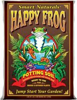 Foxfarm FX14047 Happy Frog Ph Adjusted Garden Potting Soil Mix, 2 Cubic Feet
