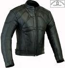 Veste moto motard homme blouson cuir style dark rider renforcé qualité CE hiver