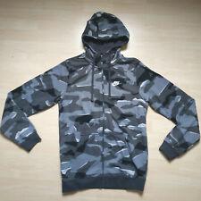 Nike Herren XL Tech Fleece RotSchwarz Camo Full Zip Hoodie