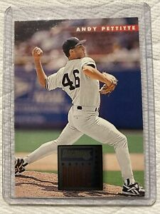 1996 Donruss Baseball Rated Rookie Card #74 Andy Pettitte RC New York Yankees