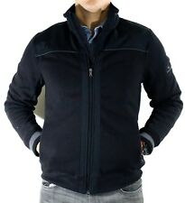 NWT Mens Tommy Hilfiger Black Full Zip Jacket Spelled Out...