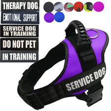 Therapy Dog Harness Vest W/ Removable Patches EMOTIONAL SUPPORT ESA DO NOT PET