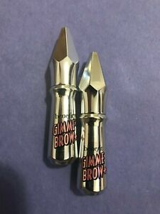 gimme brow+ volumizing eyebrow gel mini Shade 3 ( Set OF 2) Brand New (NO BOX)