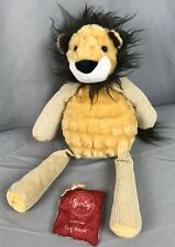 "Scentsy Buddy Roarbert The Lion 15"" Plush Cozy Fireside Scent Pak stuffed animal"