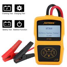 12V 2400CCA Car Automotive Battery Load Tester Analyzer Digital Diagnostic Tool