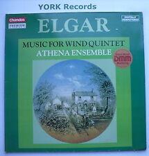 CBR 1014/5 - ELGAR - Music For Wind Quintet ATHENA ENSEMBLE- Ex Double LP Record