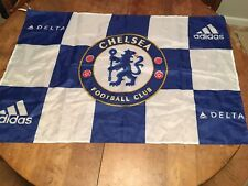 CHELSEA FOOTBALL CLUB Flag Banner Adidas Premier League Stamford Blues Pensioner