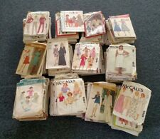 HUGE Lot 125 Vintage Sewing Patterns: MCCALL'S/BUTTERICK 1970's-1990s simplicity