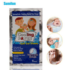 7Bags Cooling Patches Baby Fever Down Medical Plaster Migraine Headache Pads