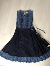 ODD MOLLY Gr.4 Wickelkleid Blau Romantisch