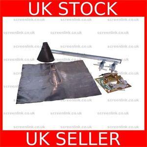 Through Roof Tile Weather TV Radio Satellite Aerial Mast Joist Mount Kit  100375