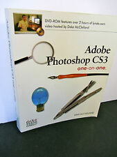 ADOBE PHOTOSHOP CS3 One-on-One Paperback BOOK by Deke McClelland 2007 Tutorial