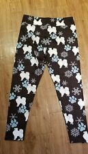 Samoyed Finnish Spitz American Eskimo Sled Dog ladies leggings 3 sizes Hurry!