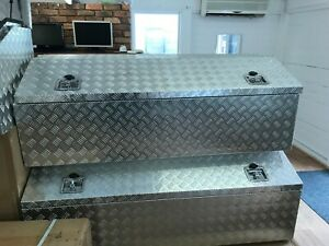 Aluminium Toolbox   Lift Up Tapered Lid   Weather Proof   1450x500x600