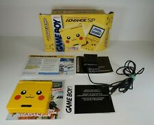 Mint Authentic Pikachu Toys R Us Nintendo Game Boy Advance GBA SP (AGS-101) Rare