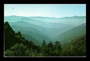 DR JIM STAMPS US NEWFOUND GAP NORTH CAROLINA SMOKY MOUNTAINS POSTCARD