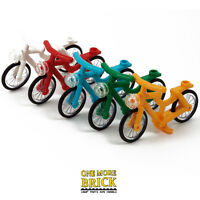 LEGO Bicycle Bike - Pedal power for your minifigures - choose bycicle colour