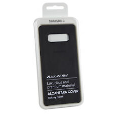 Coque en Alcantara Noir pour Samsung Galaxy Note8