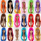 Medium Hairstyle Party Wig 19 Colours Costume Fashion Hot Dress Up Long Bob