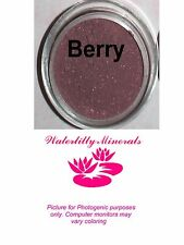 Minerals Berry Blush Bare Makeup Cheek Red Brown Plum Mauve Full Size New/Sealed