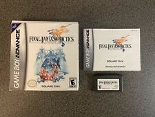 Final Fantasy Tactics Advance: Complete in Box-Cartridge, Box, and Manual