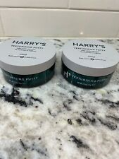 Men's Line Harry's Texturizing Putty Hair Styling 2.5oz Brand New Lot Of 2