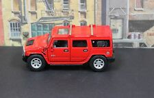 Kinsmart 2008 Hummer H2 SUV Red Mint 1:40 1:43 Pull Back