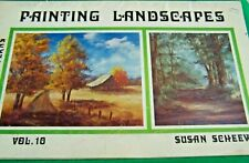SUSAN SCHEEWE PAINTING LANDSCAPES V10 1979 OIL TOLE PAINT PATTERN BOOK