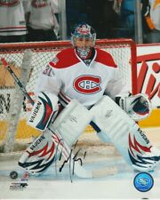 CAREY PRICE SIGNED MONTREAL CANADIENS GOALIE 8x10 PHOTO #2 Autograph