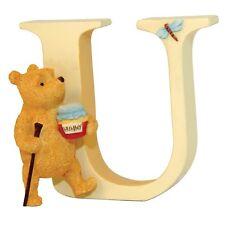 Classic Winnie the Pooh A6636 Alphabet Letter U Pooh Walking