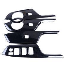 Fit Toyota CHR 16+ 4× Left Hand Drive Door Handle Window Button Lift Cover Trim
