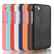For HTC Desire 12 U11 M9 E9 PLUS U Ultra Play M10 Crocodile Leather Hard Case