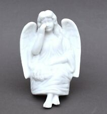 Ancien sujet ange en biscuits – angelot qui pleure